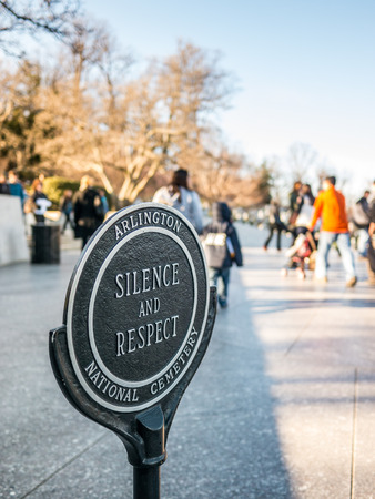 Silence and Respect at the Kennedy Gravesite Editorial