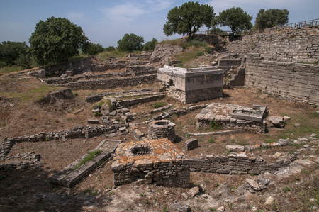 Canakkale is the ancient city of troy.