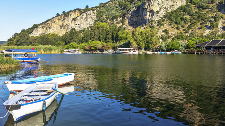 Dalyan. Dalyan Rock Tombs. Mu?la