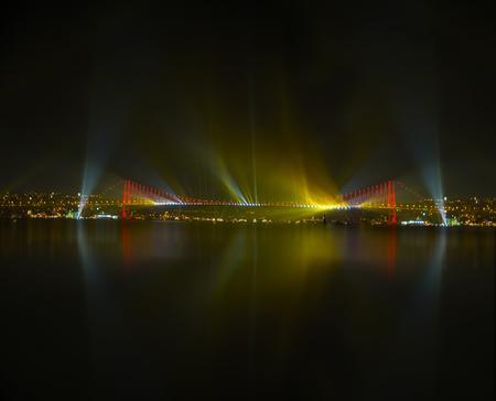 Istanbul Bogazi havayi fisek show.