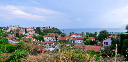 View of the Old Port in Antalya City. Antalya is the tourist center of population in Turkey.