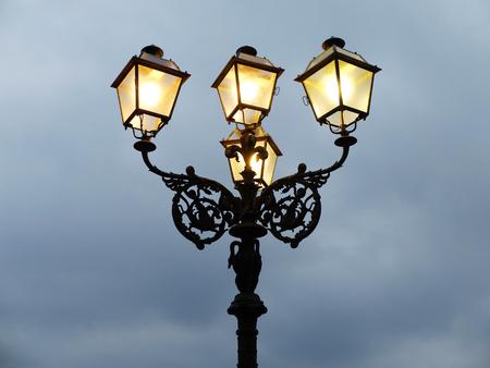 lamppost on 版權商用圖片