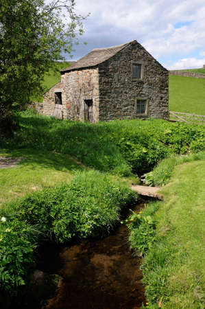 dales: Quiet peaceful part of the Wharfedale near Burnsall, near Grassington, North Yorkshire, England, UK