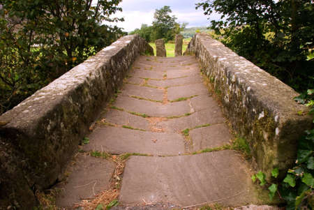 Stone bridge in the Yorkshire Dales Stock Photo