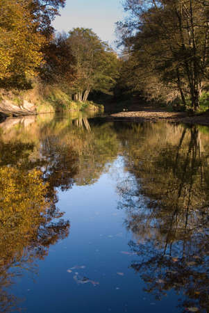 Quiet peaceful part of the Esk Valley near Grosmont, Whitby, North Yorkshire, England, UK