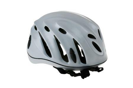 security helmet: Climbing Helmet Isolated on White Background