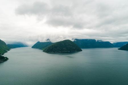 Riverside Islands in Norway