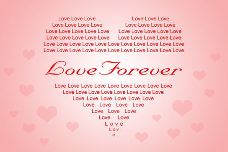sweet heart: Sweet heart background for Valentine, important day, love event or special day Stock Photo