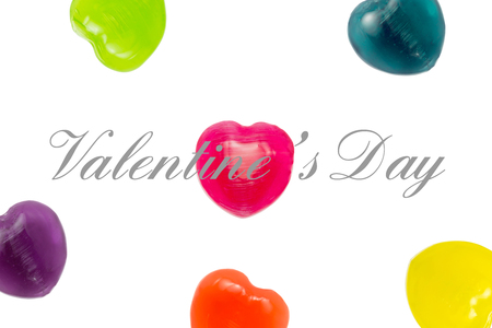 Heart Candy with Valentine photo