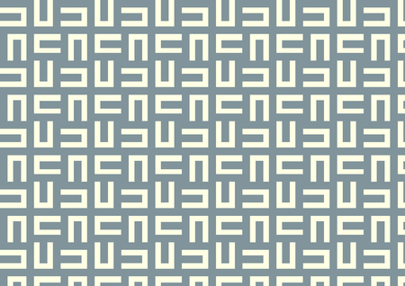 Dark blue maze or labyrinth pattern on light yellow pastel color