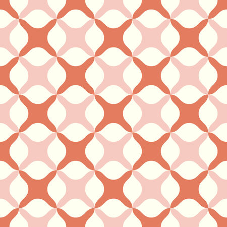 abstract cross: Orange abstract cross or plus sign pattern on pastel background. Sweet and modern seamless pattern style for graphic or romance design.