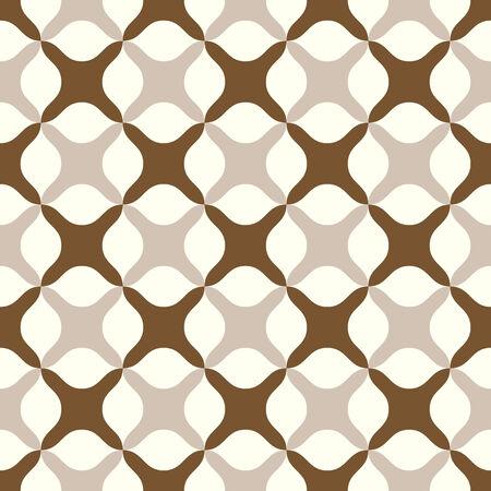abstract cross: Brown astratto croce o segno pi� modello su sfondo pastello. Stile Dolce e modello moderno senza soluzione di continuit� per la progettazione grafica o romanticismo.