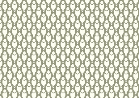 pincers: Claw of crab or pincers and circle and fire pattern on dark green background. Retro and classic seamless pattern style for design Illustration