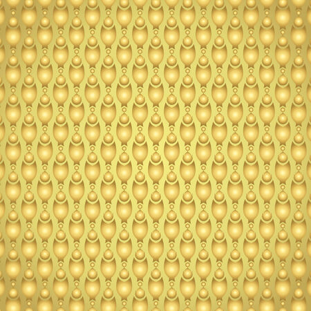 pincers: Gold claw of crab or pincers and circle and fire pattern on pastel background. Retro and classic  pattern style for vintage and modern design Illustration