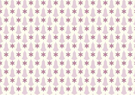 sconce: Flor de la vendimia violeta y patr�n de vela en el fondo en colores pastel. Floraci�n y aplique de estilo cl�sico patr�n de dise�o retro o viejo Vectores