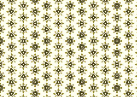 l�bulo: Modelo de flor tribal y l�bulo en fondo amarillo claro. Floraci�n Modelo incons�til del estilo vintage y cl�sico para el dise�o antiguo. Es bueno para tracer�a cortina.