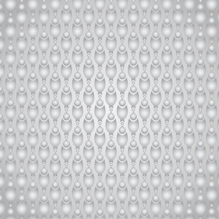 pincers: Silver claw of crab or pincers and circle and fire pattern on pastel background. Retro and classic  pattern style for vintage and modern design