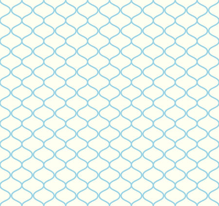 modish: Blue Sweet mesh seamless pattern on pastel background. Vintage net pattern for retro and graphic design.