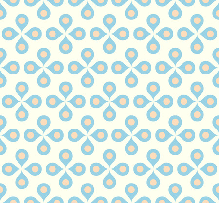 bloom: Blue blossom and pollen on pastel background. Vintage or retro bloom for love and graphic design.