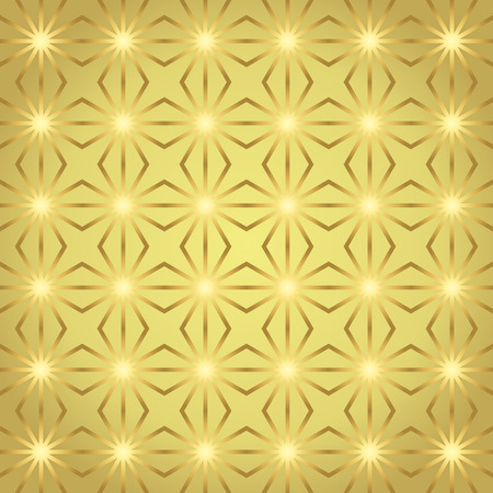 parallelogram: Gold rhombohedron or parallelogram pattern on pastel background. Retro rhomboid and circle seamless pattern style for classic or modern design