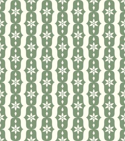l�bulo: Modelo verde flor y el l�bulo de la vendimia en fondo en colores pastel. Modelo incons�til de la flor retra para el dise�o antiguo o viejo Vectores