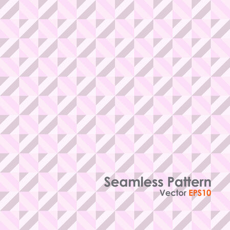 rectangle: Pink Abstract rectangle seamless pattern. Modern rectangle for graphic design. Illustration