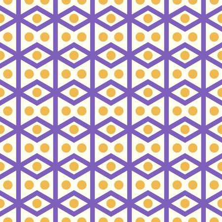 parallelogram: Romboedro violeta o patr�n paralelogramo en el fondo en colores pastel. Romboide retro y c�rculo Modelo incons�til del estilo de dise�o cl�sico o moderno