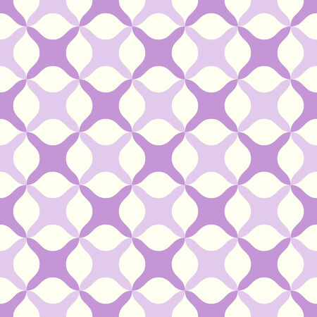 abstract cross: Purple abstract cross or plus sign pattern on pastel background. Sweet and modern seamless pattern style for graphic or romance design. Illustration