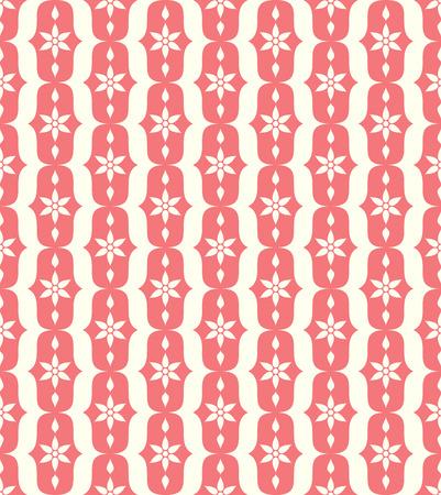 l�bulo: Modelo rojo flor y el l�bulo de la vendimia en fondo en colores pastel. Modelo incons�til de la flor retra para el dise�o antiguo o viejo