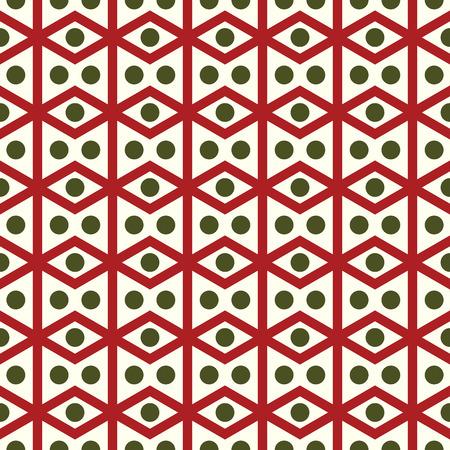 parallelogram: Romboedro Roja o patr�n de paralelogramo en el fondo en colores pastel. Romboide retro y c�rculo Modelo incons�til del estilo de dise�o cl�sico o moderno