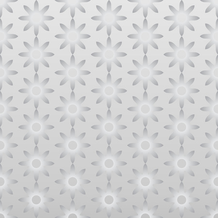 dry flower: Silver dry flower pattern in classic style on pastel background. Retro and ancient blossom seamless pattern style for modern or classic design