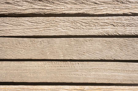 Old Wood Texture Background with Natural Light in Horizontal View