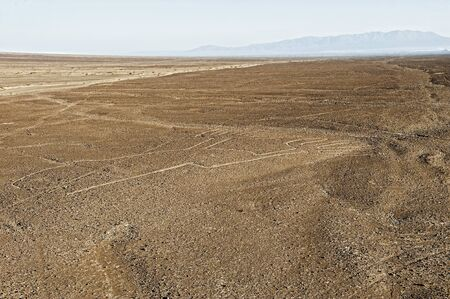 air view: air view at the famous Nasca Lines inSouth America