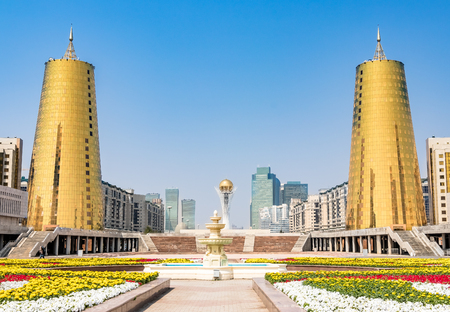 Astana - capital city of Kazakhstan Stock Photo