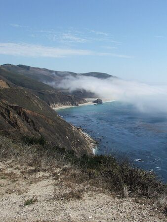 dropoff: Big Sur Coastline