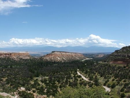 From Pueblo Canyon to Santa Fe Baldy