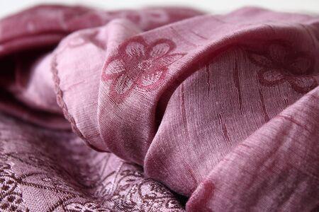 soft textile: Texture of purple soft textile.
