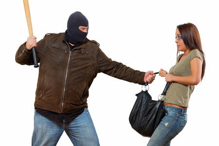 defensa personal: Escena del robo aislado
