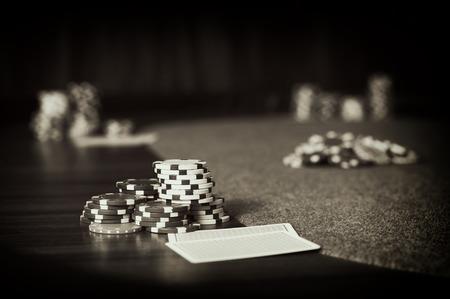 poker: poker chips