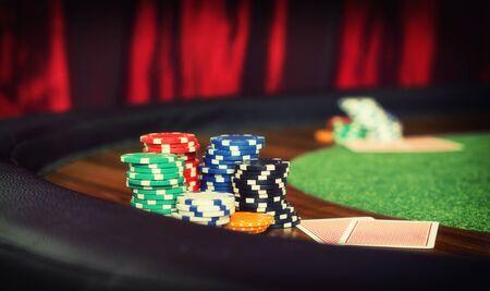 poker chips: poker chips