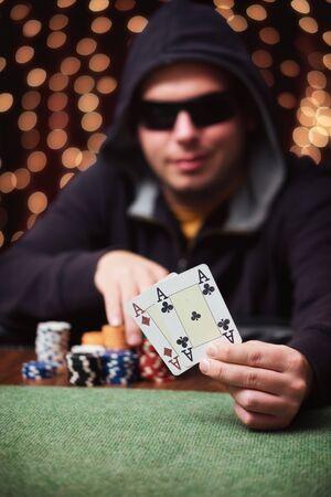 poker player: Poker player