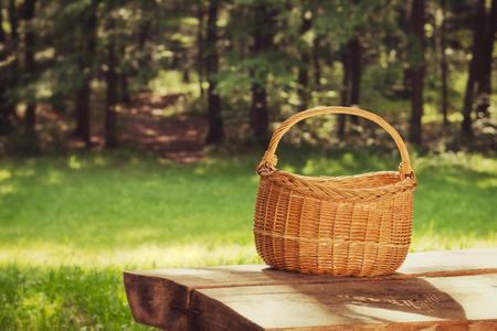 Empty basket, outdoor
