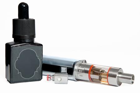 spirale: Einstellbare elektronische Zigarette, nicht karzinogen Alternative zum Rauchen Lizenzfreie Bilder