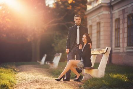 dress suit: romantic date