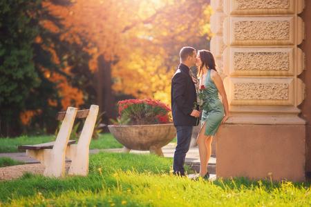 rose garden: romantic date
