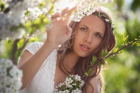 Schönheit im Frühjahr Standard-Bild - 50844549