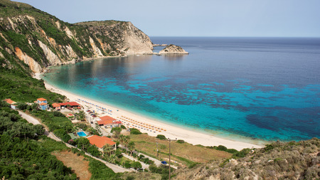 Petani Beach in Kefalonia, Ionian Islands, Greece