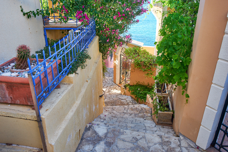 아 소스, 케 팔로 니아, 이오니아 제도, 그리스의 거리