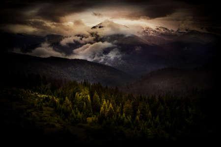 myst: Tarcu Mountain, Romania