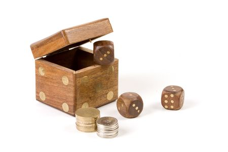 Dice and coins